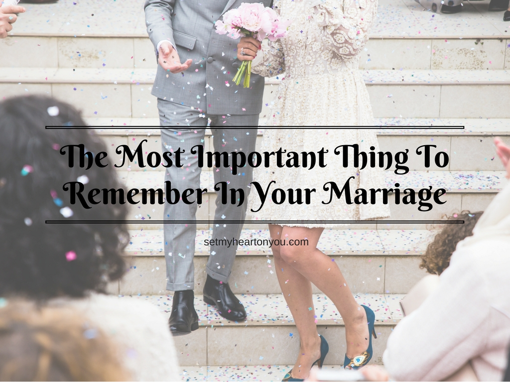 marriage is the most important derision One of the most important factors in a good marriage is respect  and to bring up things with you that need a joint decision if you can't do that,.